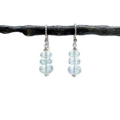 Aquamarine Earrings by TW Designs