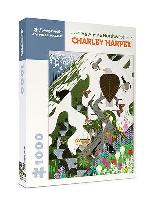 Charley Harper: The Alpine Northwest 1000-piece Jigsaw Puzzle