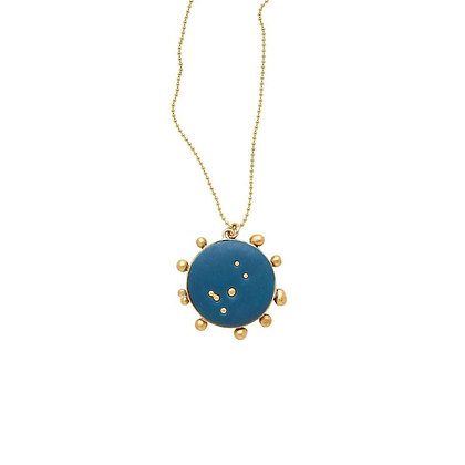Midnight Sky Pendant Necklace by Julie Cohn