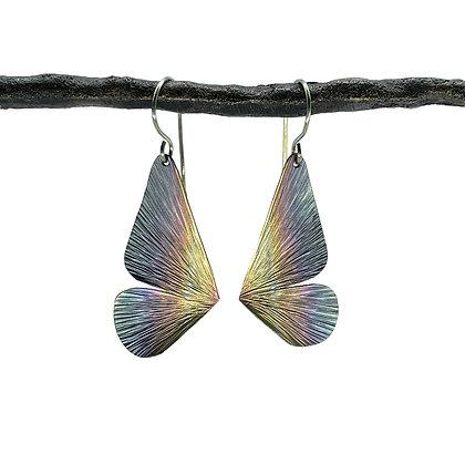Medium Butterfly Half Wing Earrings by Amie Plante