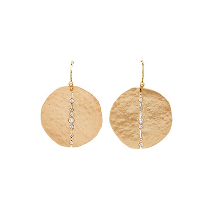 Orbit Bronze Earring