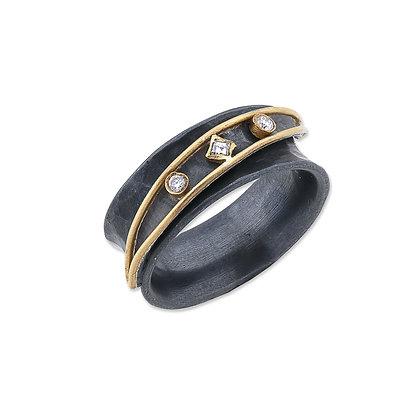 Inversion Yin+Yang Ring