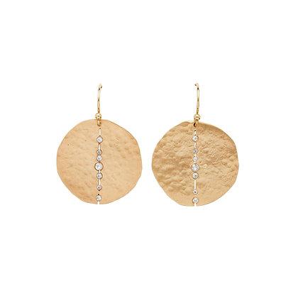 Orbit Bronze Earrings by Julie Cohn
