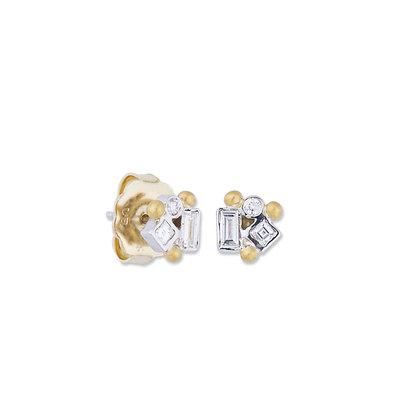 Dylan Diamonds Post Earrings by Lika Behar Collection