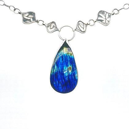 Labradorite Necklace by Heather Munion