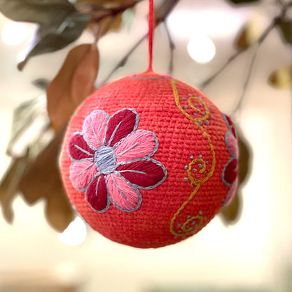 Large Wool Deco Ball ~ Ornament