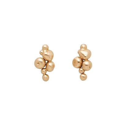 Ore Bronze Post Earrings by Julie Cohn