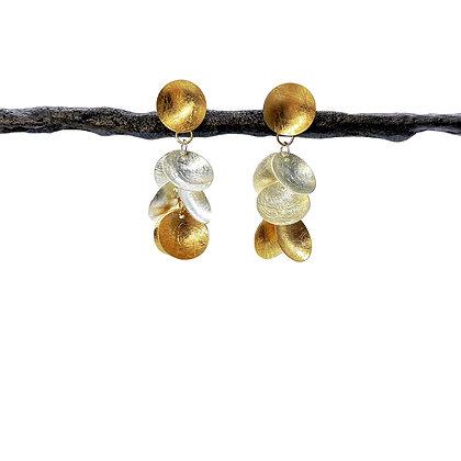 Grape Dangle Post Earrings by Tip-To-Toe