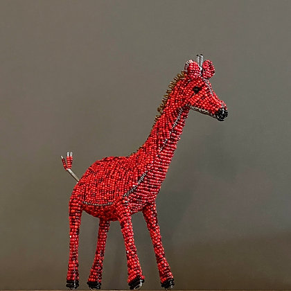 Miniature Beaded Giraffe Home Decor by Sidai Designs