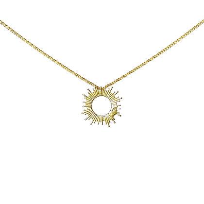 Supernova Pendant Necklace by Tiny Anvil