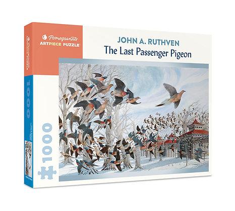 John A. Ruthven: The Last Passenger Pigeon 1000-Piece Jigsaw Puzzle