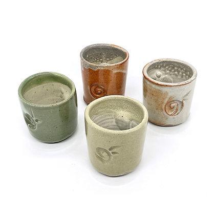 Ceramic Sake Cups Set by Shorr Pottery