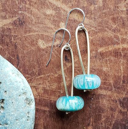 Arc Earrings by Caitlin Burch