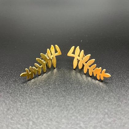 Fern Climber Studs Earrings