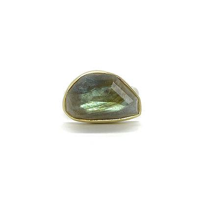 Rosecut Labradorite Ring by Heather Guidero