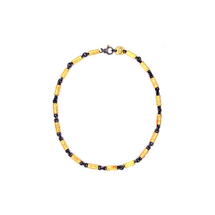 Chunky Tube Chain Necklace by ARA