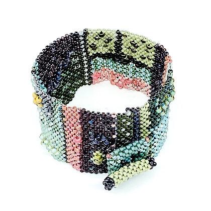 Herbal Diebenkorn Cuff Bracelet