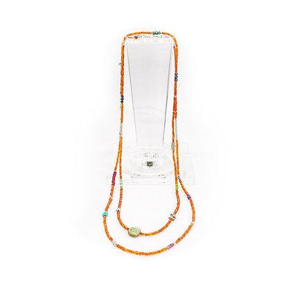 Carnelian Uber Necklace by Riverstone
