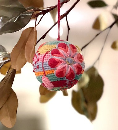Small Wool Deco Ball by Roost