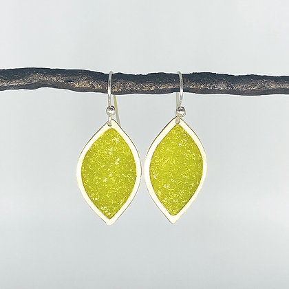 Small Marquise Earrings | Sterling Silver