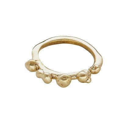 Ripple Bronze Ring by Julie Cohn