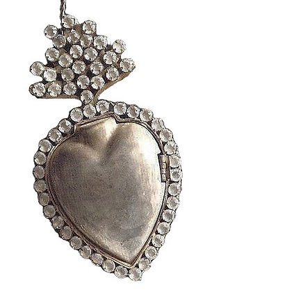 Decorative Milagro Heart Locket Ornament by Roost