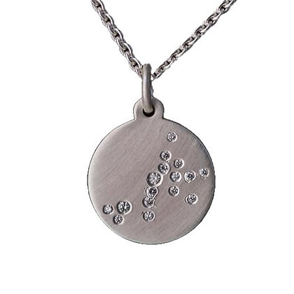 SCORPIO (Oct 23 - Nov 21) Diamond Constellation Necklace