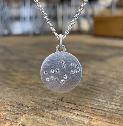 VIRGO (August 23 - Sept 22) Diamond Constellation Necklace