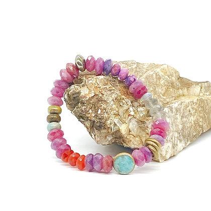 Ruby Mix Bracelet