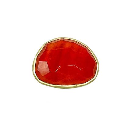Carnelian Ring by Heather Guidero