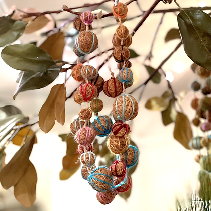Decorative Multi Ball Garland by Roost