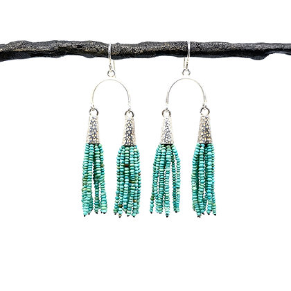 Tassel Earrings by Hitomi Jacobs