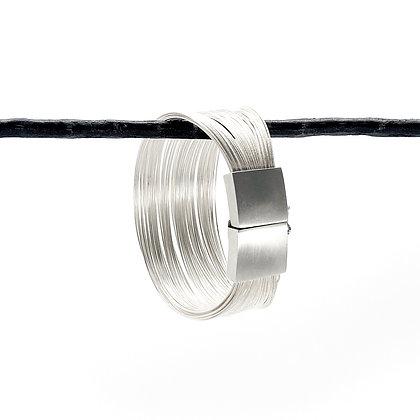 Multi-Wire Sterling Silver Bracelet