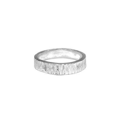 Calamari Band Ring