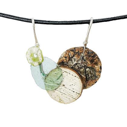 Amalfi Bark Necklace by Tessoro