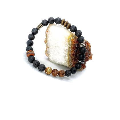 Lava Bracelet by Riverstone