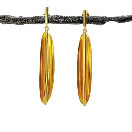 Rainforest Dangle Post Earrings by Tip-To-Toe