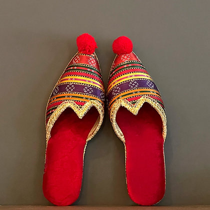 Vintage Ethnic Ottoman Slippers Shoes