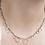 "Thumbnail: Circle Bunches Long Necklace - 30"""