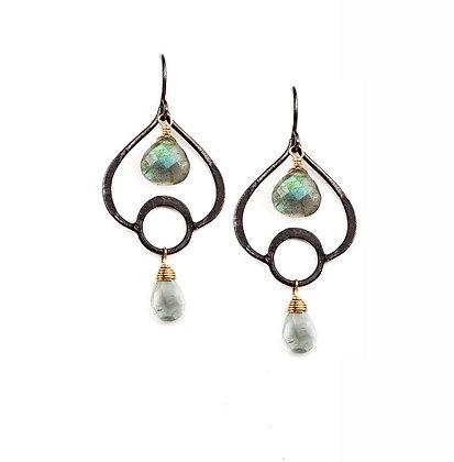 Aspen Leaf Earrings by Calliope