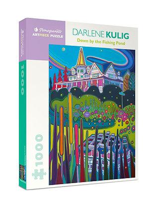 Darlene Kulig: Down by the Fishing Pond 1000-Piece Jigsaw Puzzle
