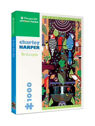 Charley Harper: Birducopia 1000-piece Jigsaw Puzzle
