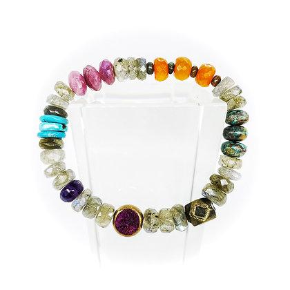 Labradorite Mix Bracelet by Riverstone