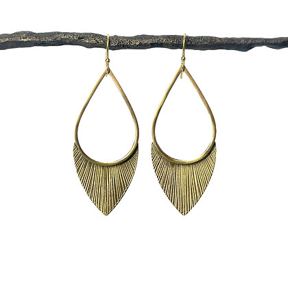 Flora Earrings by Tiny Anvil
