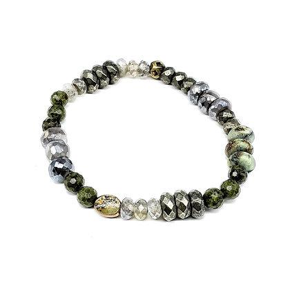 Moonstone Mix Bracelet by Riverstone #8.34