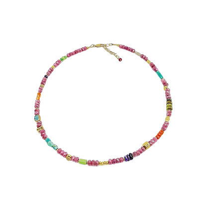 Ruby Chunky Necklace by Riverstone #8.10