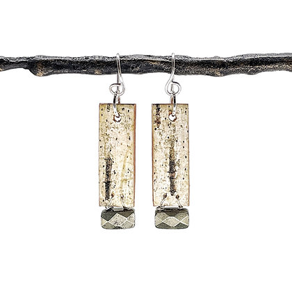 Pyrite Salon Earrings by Tessoro