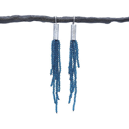Contemporary Topaz Earrings by Hitomi Jacobs