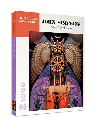 John Simpkins: Sri Yantra 1000-Piece Jigsaw Puzzle