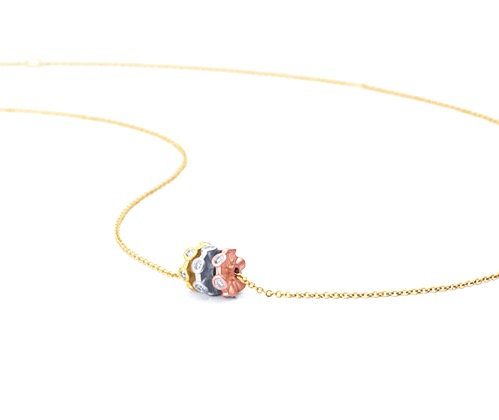 Cono Forever Rondelle Necklace by Dana David